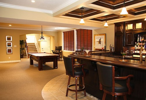 game room for recreation