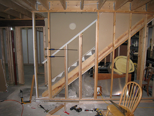 garage attic remodel - Remodeling your Basement for Less