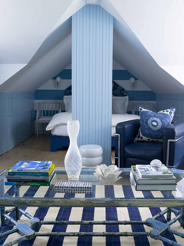 A Cool Bedroom In The Attic