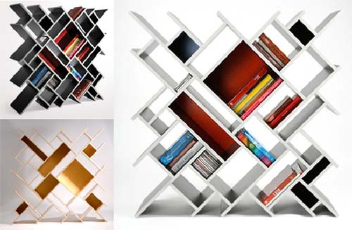 Different types of book shelves for your needs for Types of bookshelves